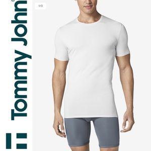 Tommy John Second Skin Crew Neck T-Shirt White L